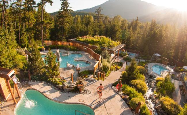 Scandinav Spa, Whistler, BC
